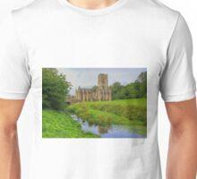 Fountains Abbey Yorkshire 2 Unisex T-Shirt