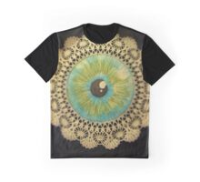 Delicate Eye Lace Graphic T-Shirt