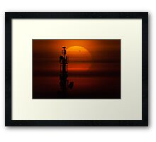 Transit of Venus Framed Print