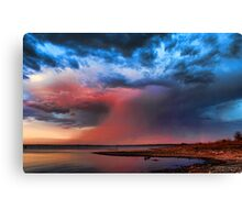 A Seriously Cool Sunset Canvas Print
