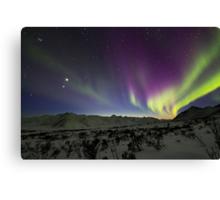 Yukon Northern Lights 3 Canvas Print
