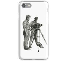 Travel and adventure with a camera. iPhone Case/Skin