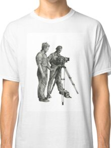 Travel and adventure with a camera. Classic T-Shirt