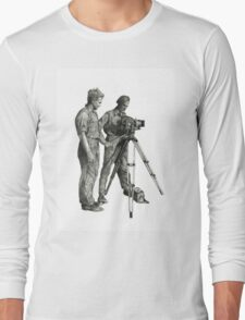 Travel and adventure with a camera. Long Sleeve T-Shirt