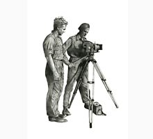 Travel and adventure with a camera. Unisex T-Shirt