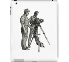 Travel and adventure with a camera. iPad Case/Skin