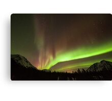 Yukon Northern Lights 4 Canvas Print
