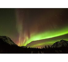 Yukon Northern Lights 4 Photographic Print