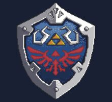 Hylian Shield by snespix