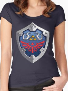 Hylian Shield Women's Fitted Scoop T-Shirt