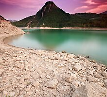Lago di Bomba-Pennadomo by Fabio Catapane