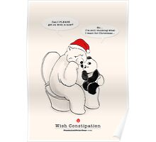 Wish Constipation Poster
