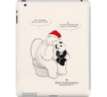 Wish Constipation iPad Case/Skin