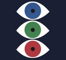 Evil Eyes Kids Tee