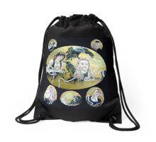 The Ribbons that bind (drawstring bag) Drawstring Bag