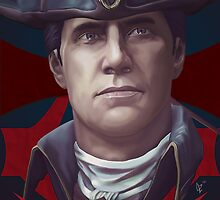 Haytham Kenway by dmbgal07