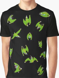 Tiny Pterosaur Bunch (Nemicolopterus) Graphic T-Shirt
