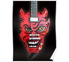 Ali Kat Aluminium Devil Guitar Poster