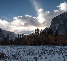 Winter Sunset by Vince Russell