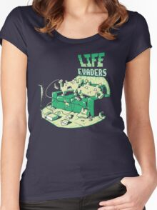 Life Evaders Women's Fitted Scoop T-Shirt