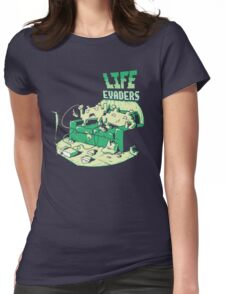 Life Evaders Womens Fitted T-Shirt