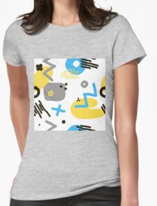 Modern hand draw colorful abstract seamless pattern  T-Shirt