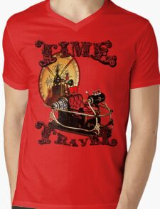Time Travel Mens V-Neck T-Shirt