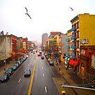 125th Street. Harlem, New York. by Daniel Sorine