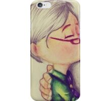 Ellie Kiss iPhone Case/Skin