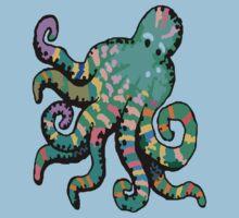 Funky Octopus Baby Tee