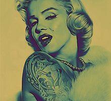 Naughty Monroe  by Zarp