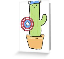 Cactus America Greeting Card