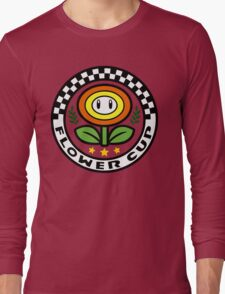 Flower Cup Long Sleeve T-Shirt