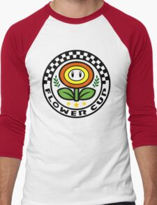 Flower Cup Men's Baseball ¾ T-Shirt