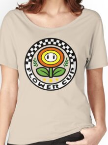 Flower Cup Women's Relaxed Fit T-Shirt