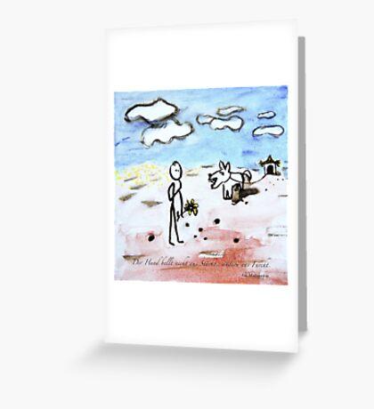 Bellen Greeting Card