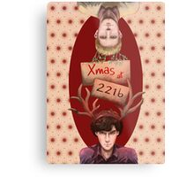 Merry Xmas from 221b Metal Print