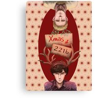 Merry Xmas from 221b Canvas Print