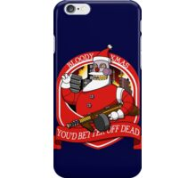Bloody XMAS. iPhone Case/Skin