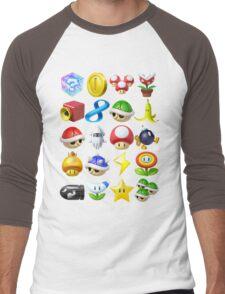 Item Surprise Men's Baseball ¾ T-Shirt