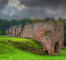 Spofforth Castle North Yorkshire by Colin  Williams Photography