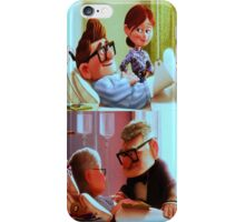 carl and ellie love forever iPhone Case/Skin