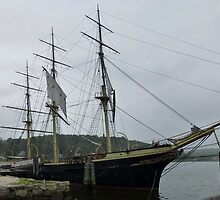 Old Whaler - Mystic Seaport, CT by Bine