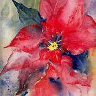 Poinsettia by Val Spayne