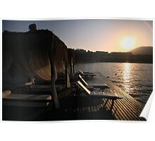 Sunrise Jetty Loungers Poster
