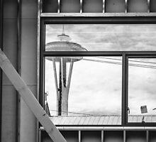 Needle Window by Sue Morgan
