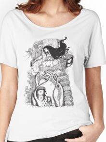 The Owl Carrier (10000) views) Women's Relaxed Fit T-Shirt