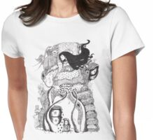 The Owl Carrier (10000) views) Womens Fitted T-Shirt