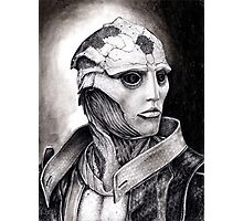 Thane Portrait in Charcoal - Print Photographic Print