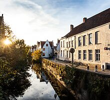 Lake in Bruges by Nickfree1